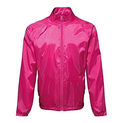 2786 Herren Duffle Jacke Gr. XL, hot pink