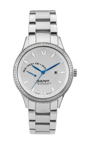 GANT Women's Quartz Watch Kingstown W10762 with Metal Strap