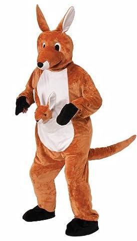 Plush Jumpin Jenny the Kangaroo Adult Costume One Size Fits Most