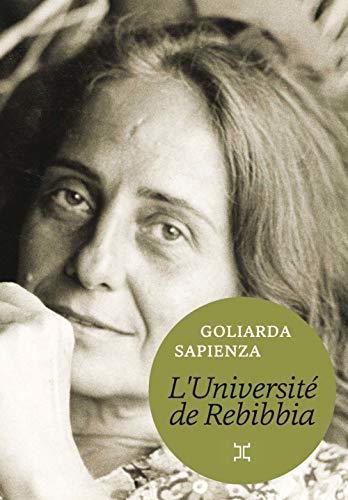 L'Université de Rebibbia par Goliarda Sapienza