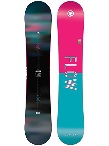 Flow Velvet Snowboard - Women's One Color, 143cm by (Venus Flow Womens Snowboard)