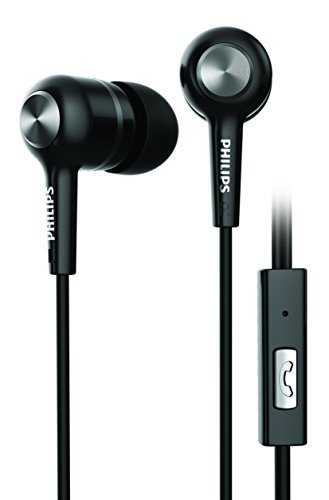 Philips Earphone with Hands-free calls (Black)