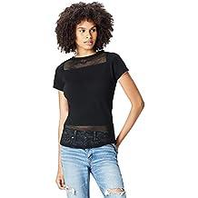 5ac6776a07e7 Activewear T-shirt Sportiva con Inserti in Mesh Donna