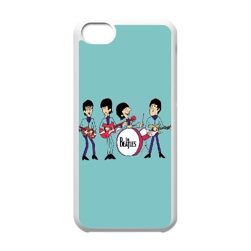 LP-LG Phone Case Of The Beatles For Iphone 5C [Pattern-3] White