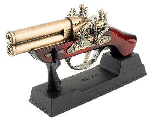 GYD M Feuerzeug Tischfeuerzeug Pistole Revolver Sammlerstück