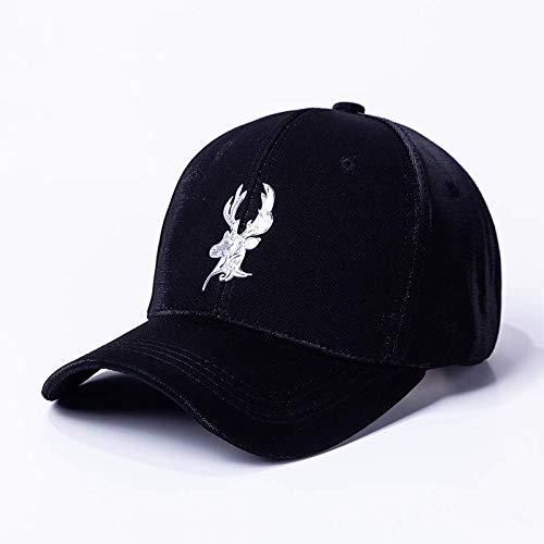 shunlidas Hüte Dekorationen Fischerhutsunscreen Outdoor Baseball Cap, Verstellbar, Schwarz - Schwarze Passform-baseball-hut