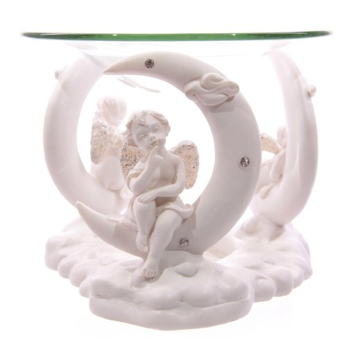 white-cherub-crescent-moon-oil-burner
