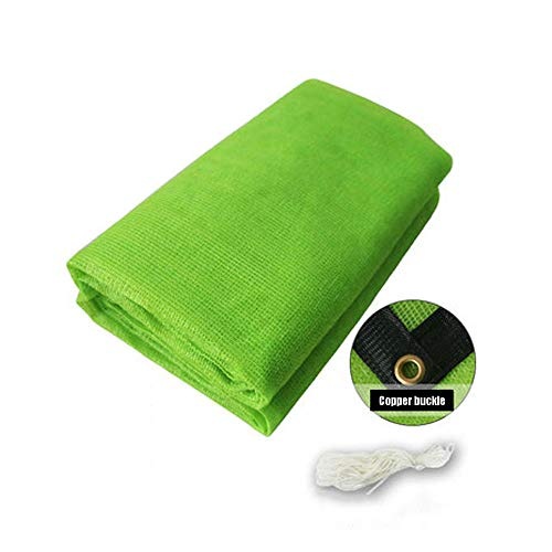 Filet d'ombrage, auvents, Filet Solaire, écran de Protection Solaire, voiles de bâche de Tente de Tente pour auvent, appropriées à la Protection Anti-UV, grandeurs Multiples, Vert (Taille : 6 * 6M)