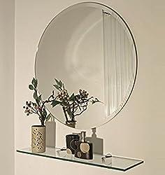 A&E Frameless Mirror,22 Inch X 22 Inch