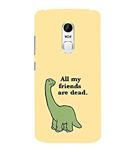 EPICCASE All my Friends are Dead Mobile Back Case Cover For Lenovo Vibe X3 (Designer Case)