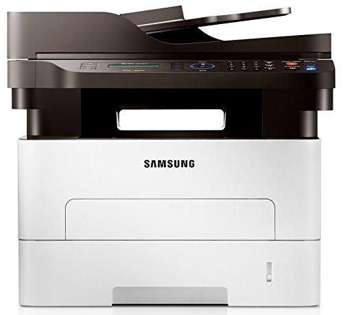 Samsung Xpress M2875FW/XEC Monolaser-Multifunktionsgerät (Drucken, Scannen, Kopieren, Faxen, 4.800 x 600 dpi, 128 Mb Speicher, 600 MHZ Prozessor) -