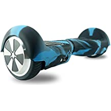 "FollowHeart Self Balance Rueda Hoverboard Scooter Skin Case Wrap Cover para 6.5 ""Proteja su Scooter (Negro&Azul)"