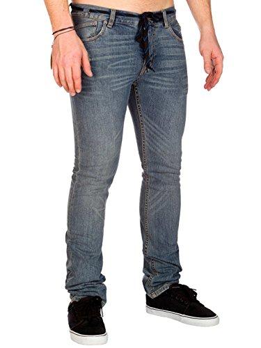 Fox Head - Jeans -  Homme Worn Wash