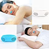 #10: PrimeBox 2 In 1 Anti Snoring & Air Purifier Nose Clip Breathe Easy Care Relieve Snoring Air Purifying Respirator Stop Snoring Solution (Multicolor)