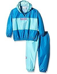 Baggers Originals Waterproof Jacket and Trouser Set, Pantalones para la Lluvia para Niñas
