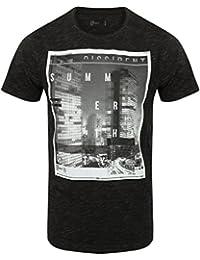 Dissident Men's Carbon Summer Graphic Crew Neck T-Shirt Size S- XXL