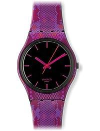 Swatch Damen-Armbanduhr Snaky Pink GB255