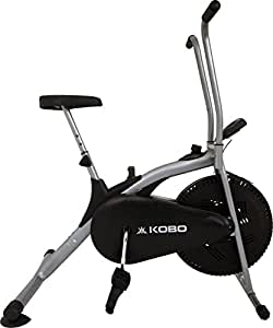 Imported EXERCISE DUAL ACTION BIKE WITH BACK REST/ELECTRONIC METER