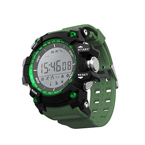 LYDB LYDB Uhren 30m wasserdicht Bluetooth Smart Sport Health Watch, Unterstützung Schrittzähler/Anrufe zu erinnern/Schlaf Überwachung/Remote Capture/Höhe/Luftdruck/Temperatur/UV-Monitor (Bl