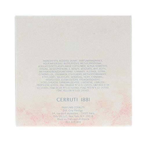 Cerruti 1881 femme/woman, Eau de Toilette, 1er Pack (1 x 100 ml)