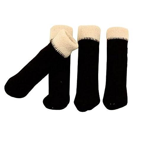 Meubles Knit Socks sol Protector Épaissir Chaise / Table Jambières 24 PCS-A14