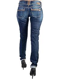 Jeans Le Temps Des Cerises Alani JF216ALWSS10 Azul
