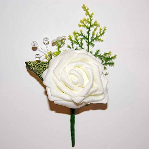 celia-boutonniere-buttonhole-corsage-cream-rose-crystal-beads-wedding-flowers-groom-best-man