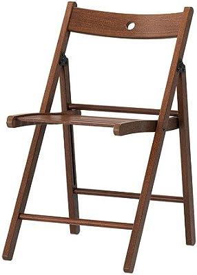 IKEA TERJE - Silla plegable, marrón