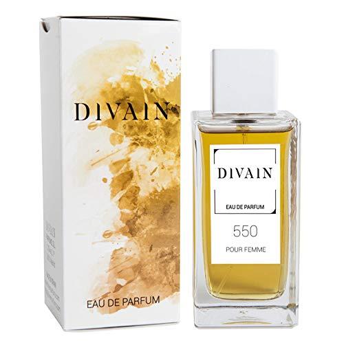 Divain-550, eau de parfum per donne, vaporizzatore 100 ml