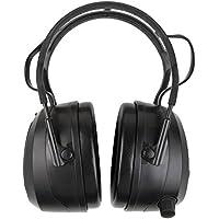 STIER Kapselgehörschutz mit FM Radio, Bluetooth & AUX | maximale Wiedergabelautstärke von 82dB | 16h Nutzungsdauer | integrierte 4GB-SD Card | Gehörschutz | Ohrenschutz | Lärmschutz