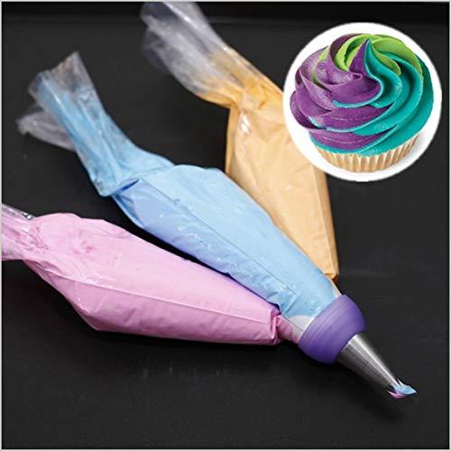 Prima05Sally Icing Piping Düsen Tipps Creme Spritzbeutel Konverter Kuchen Dekorieren Tools Set Pastry Tools Backzubehör Kuchen-tipp