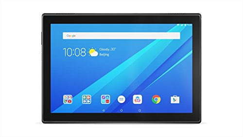 Lenovo TAB4 10 - Tablet de 10.1' (Procesador Qualcomm MSM8917, 2 GB de RAM, memoria interna de 32GB, Camara frontal de 5MP, Android 7.0) color negro