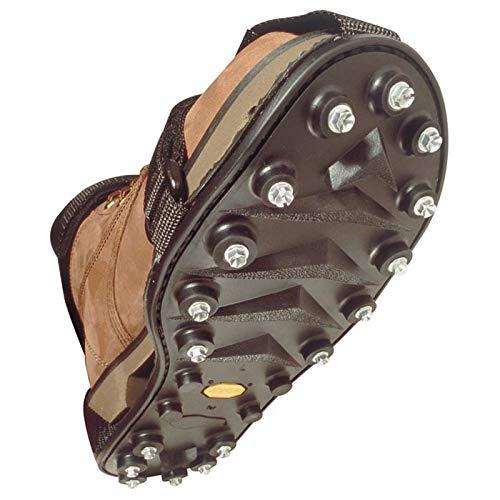 STABILicers ORIGINAL (Grande 44-46) Suole Antiscivolo / Ramponi per Scarponi - 34 duro borchie di metallo - per la trazione su ghiaccio, nev