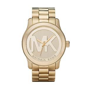 Michaël Kors Damen-Armbanduhr Analog Edelstahl gold MK5473