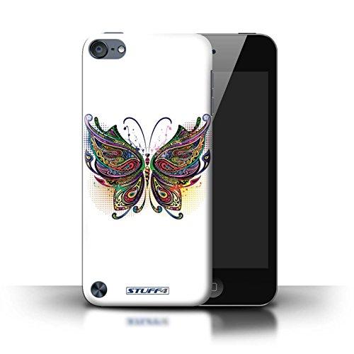 Stuff4® Hülle/Hülle für Apple iPod Touch 5 (5th Generation) / Schmetterling Muster/Deko-Tiere Kollektion (Mädchen Ipod-taschen 4. Generation)