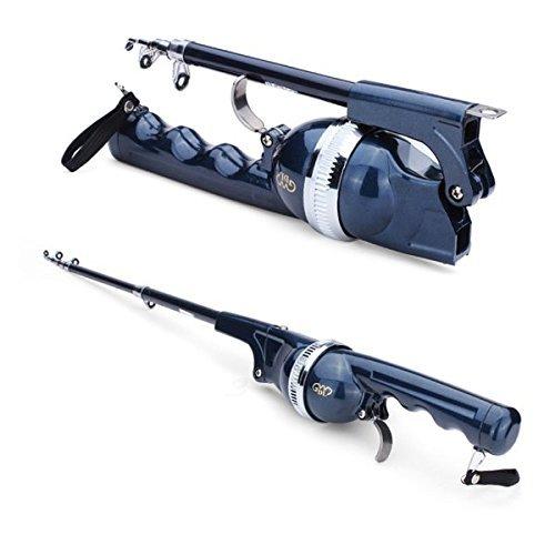 PDHU Barra telescópica portátil plegable para cañas de pescar
