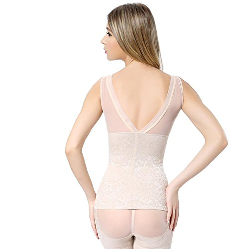 Donna slip Corsetti corpo girly Circonferenza della vita Bustino dimagrante stretto Abbigliamento corpo set B