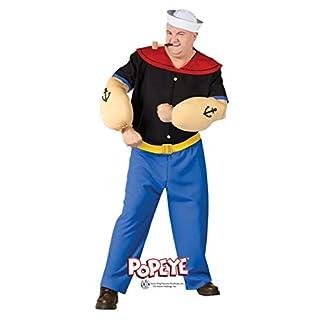 Horror-Shop Original Popeye Kostüm Plus Size für Fasching X1