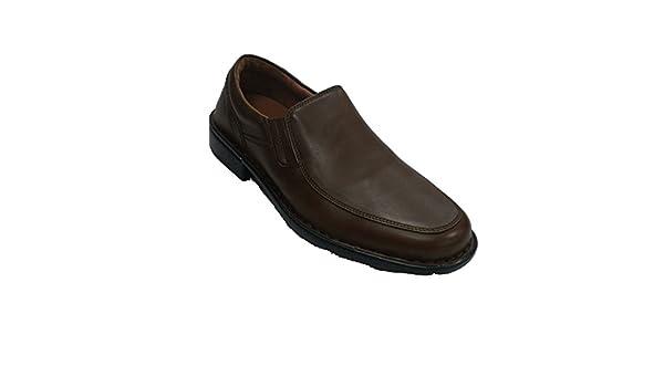 Made In Spain Homme de Chaussure avec Une Pelle Lisse Fleximax en Brun Taille 45