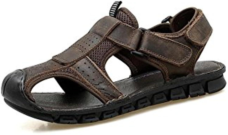 DALL Sandalias Deportivas Ly-873 Ligero Y Transpirable Calzado De Hombre Sandalias Planas Zapatillas Zapatos De