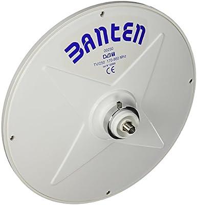 Banten C-250 - Antenas para barcos, color blanco