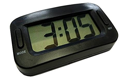 XtremeAuto® LARGE, Digital Clock for Car Dashboard. Ideal for Extra