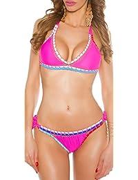 jowiha® Häckel Bikini Set im Boho Style