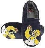 Générique Les Simpsons Hommes Bleu Homer Duff Confort Pantoufles De Fantaisie EU 41-42 Bleu
