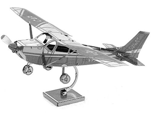 Fascinations Metal Earth MMS045 - 502492, Cessna 172 Skyhawk, Konstruktionsspielzeug, 1...