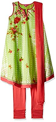 Biba Girls Girls' Salwar Suit Set