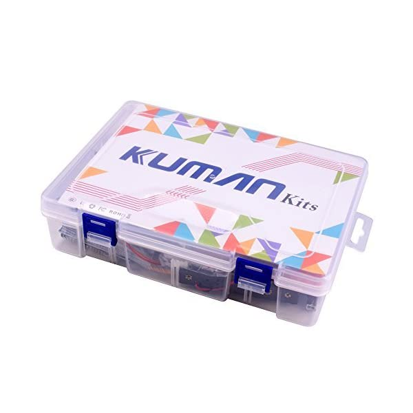 41cCmwqQzgL. SS600  - Kuman New Arduino Components with UNO R3 LCD servo Ultimate Starter RFID Learning Kit for Arduino UNO Nano Learners Beginner, Complete 48 Set Kits K25