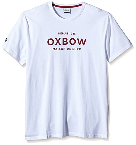 Oxbow, Maglietta a maniche corte Uomo Bianco (Blanc)