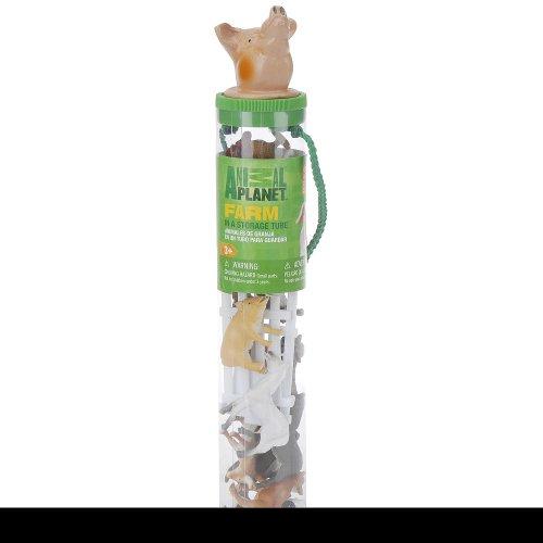 Animal Planet Animal Head Tube - Farm (Farm Animal Tubes)