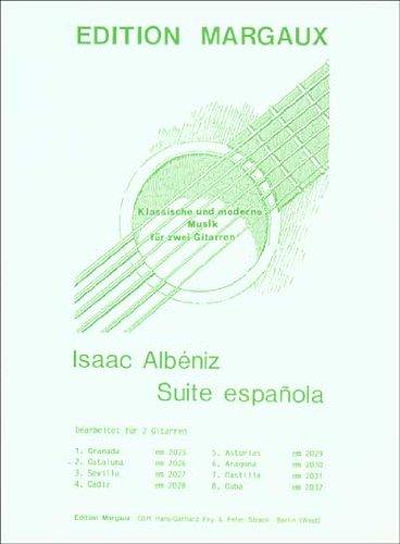 Suite Espanola: Cataluna: Bearbeitet Fur 2 Gitarren (Edition Margaux) por Isaac Albeniz